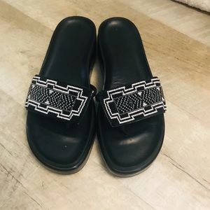 Donald J. Pliner Platform Sandals